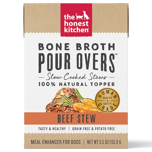 The Honest Kitchen Pour Overs Bone Broth Beef Stew